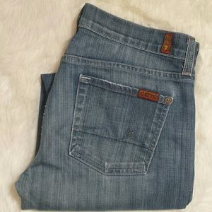 7 For All Mankind Denim - 7 for all mankind Boycut Relaxed Jeans Size 30