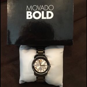 Movado Other - Sale!Authentic Women's Movado BOLD2Tone Luxe Watch