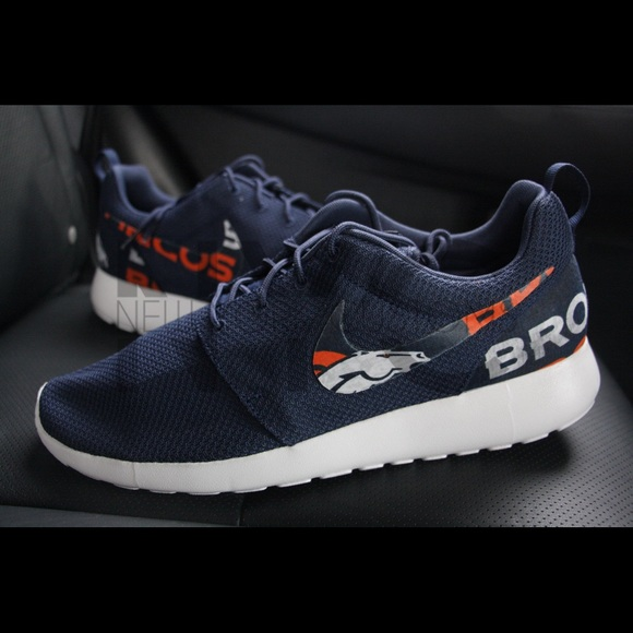 sports shoes 7659d ea734 sweden nike roshe run denver broncos 52242 0e19d