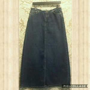 Mavi Dresses & Skirts - MAVI Vintage A-line Denim Skirt