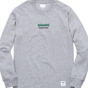 Supreme thistle long sleeve
