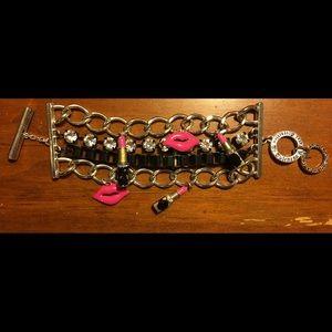 Harajuku Lovers Jewelry - HARAJUKU LOVER LIPSTICK CHARM BRACELET