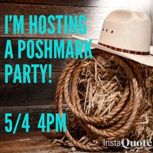 Poshmark Jewelry - Poshmark Party Host 5/4 4pm