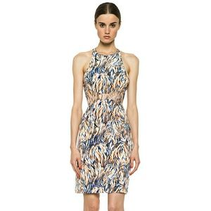 STELLA MCCARTNEY NEON ABSTRACT PRINT DRESS SZ 8/10