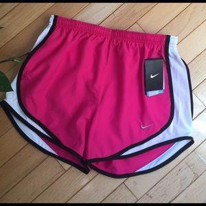 NEVER WORN pink Nike running shorts