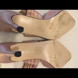 Sacha Too Shoes - 7.5 sexy silk wrap heels. Sacha Too