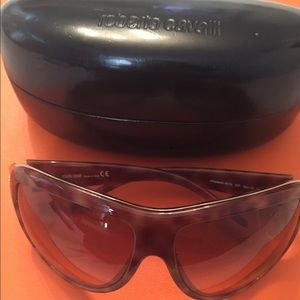 Roberto Cavalli Accessories - Authentic Roberto Cavalli Light Brown Sunglasses
