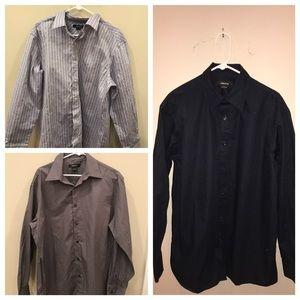 Claiborne Other - NWT Bundle of 3 Claiborne Men's Dress Shirts