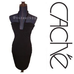 Cache Dresses & Skirts - NWT cache black dress