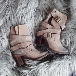 Jeffrey Campbell Shoes - ❤️SALE❤️ Jeffrey Campbell France Suede Heel Boots