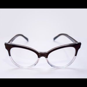 Accessories - ON HOLD: Black Clear Cat Eye Glasses
