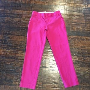Banana Republic Pants - Fuchsia Banana Republic Ankle Pants