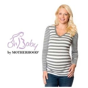 Oh Baby by Motherhood Tops - Oh Baby by Motherhood Maternity Tee M & L NWT