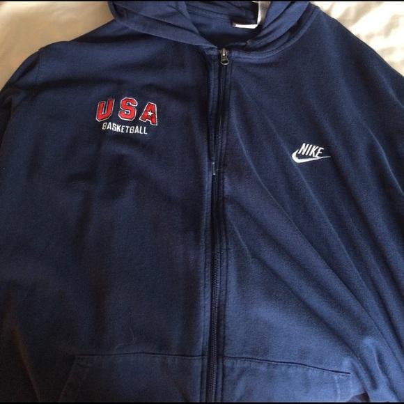 5b975059f0da Vintage Nike Air Team USA Basketball Sweatshirt. M 58bae3cd6a5830a5f2006d6c