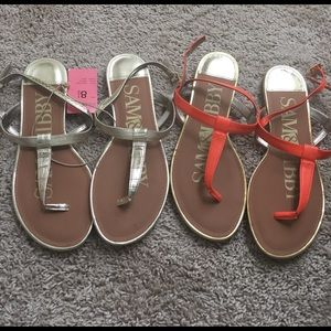 Sam & Libby Shoes - Sam & Libby Sandals Lot of 2