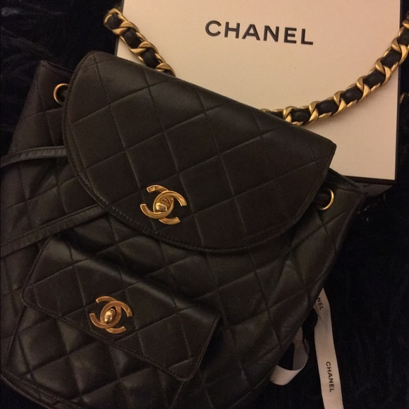 589f7881421539 CHANEL Bags | Backpack Vintage | Poshmark