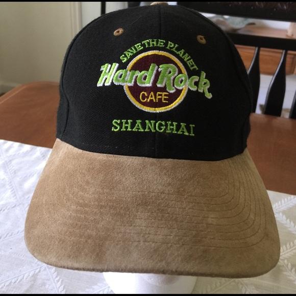 68617194784815 hard rock café Other - Men's hard rock café shanghai baseball cap Hat