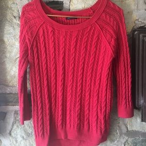 American Eagle Outfitters Sweaters - American Eagle Outfitters pink cable knit sweater