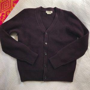 Tna wool cardigan sweater