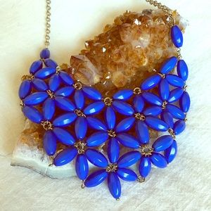 Ily Couture Jewelry - Blue bib necklace