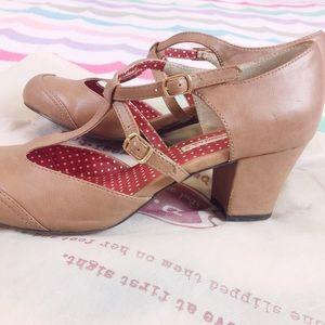 ModCloth Shoes - BAIT Footwear Raven Latte Heel