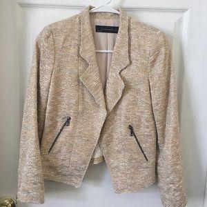 Zara xs gold blazer