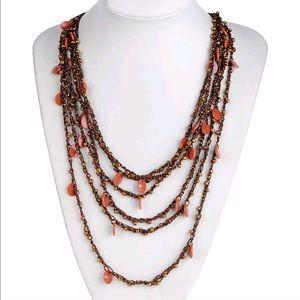 Jewelry - Handmade Multi-Strand Beaded Necklace
