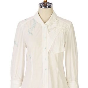 Anthropologie Tops - Anthropologie Floreat Blithe Plume Top