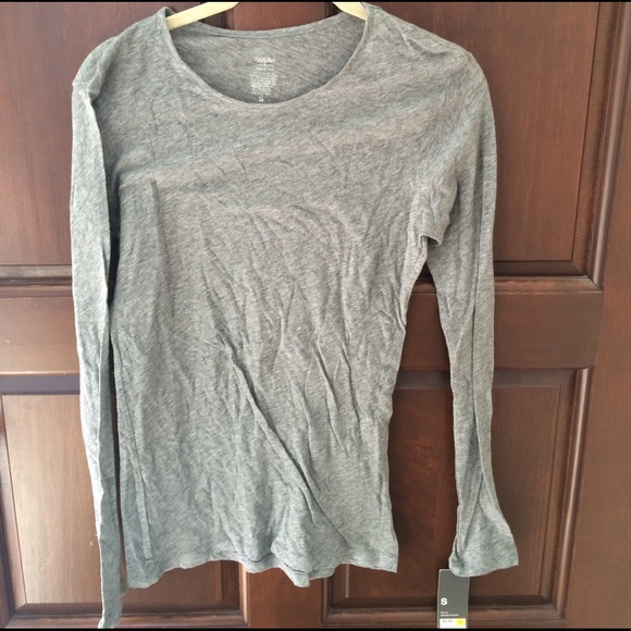 4c458675 Mossimo Supply Co. Tops | Long Sleeve Tissue Tee | Poshmark