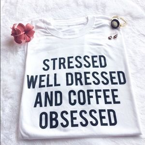 Tops - Stressed Graphic shirt