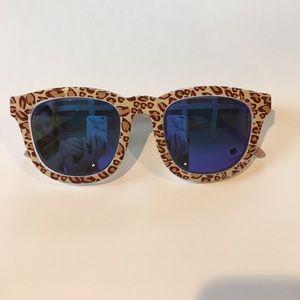 Le Specs Leopard Sunglasses