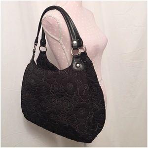 thirty one Handbags - Thirty One Avenue Black Quilted Poppy Handbag