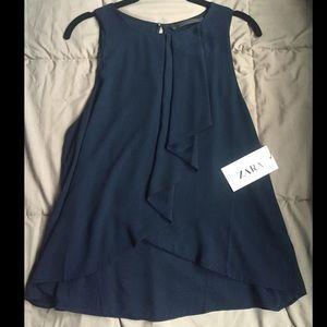 Zara Tops - NWT Zara Sleeveless Blouse
