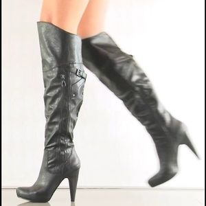 G by Guess Shoes - Over the knee boots! Like new condition!