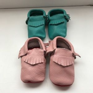 Freshly Picked Other - Genuine leather baby toddler moccasins