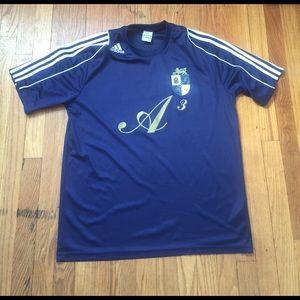 ⚽️聾 Adidas Futbol Soccer Jersey A3 #27 Large