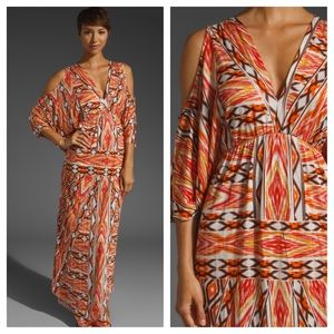 Testament  Dresses & Skirts - Testament orange print maxi size medium