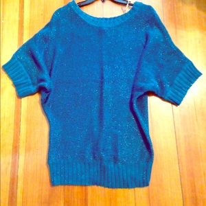 FLASH SALE!! Teal Slouchy Sweater
