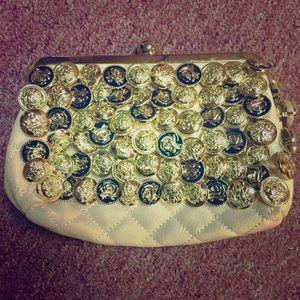 Aldo Handbags - ALDO- Pale Pink & Metallic Coin Clutch 👛💖👛