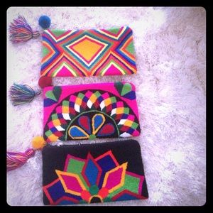 Handbags - ❣️Clutch❣️lovely! Indigenous hand weaving made.