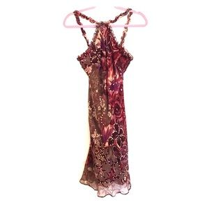 100% silk sequin Muse dress
