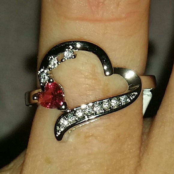 69 off jewelry new sterling silver 925 stamped ruby for Diamond stamp on jewelry