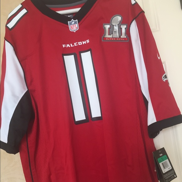 falcons super bowl jersey