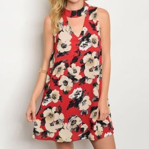 Nordstrom Dresses & Skirts - New red floral dress