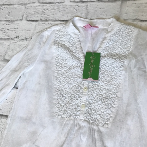 Lilly Pulitzer Tops - 🌷Spring Sale🌷New Lilly Pulitzer White Tunic