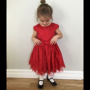 Sweet Heart Rose Other - Red sweet heart rose party dress