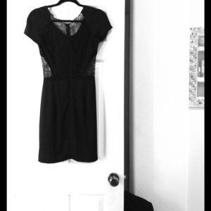 Barneys New York CO-OP Dresses & Skirts - Barney's New York CO-OP silk & lace dress. Size 2.