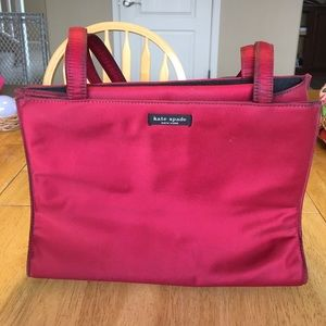 kate spade Handbags - Kate Spade wine colored bag