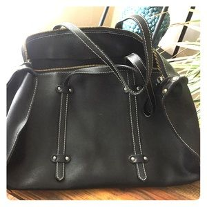 Alberta di Canio Handbags - Like New Black Leather Handbag