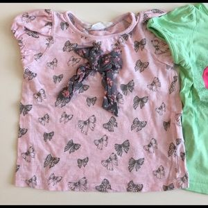 Other - Bundle H&M girls tops US2-4